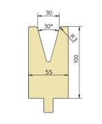 Abkantwerkzeug Typ Trumpf GWD-T030/30°/R3
