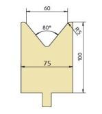 Abkantwerkzeug Typ Trumpf GWD-T060/80°/R5
