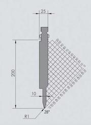 Abkantwerkzeug Typ Wila BIU-053