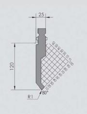 Abkantwerkzeug Typ Wila BIU-012