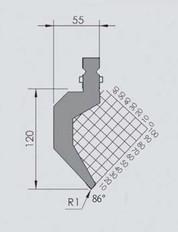 Abkantwerkzeug Typ Wila BIU-013