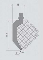 Abkantwerkzeug Typ Wila BIU-023