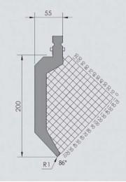 Abkantwerkzeug Typ Wila BIU-033