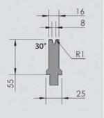 Abkantwerkzeug Typ Wila OZU-051