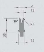 Abkantwerkzeug Typ Wila OZU-052