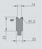Abkantwerkzeug Typ Wila OZU-012