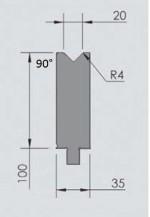 Abkantwerkzeug Typ Wila OZU-346
