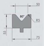 Abkantwerkzeug Typ Wila OZU-035