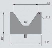 Abkantwerkzeug Typ Wila OZU-070