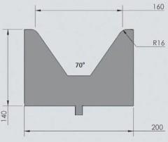 Abkantwerkzeug Typ Wila OZU-071