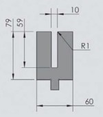 Abkantwerkzeug Typ Wila OZU-083