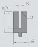 Abkantwerkzeug Typ Wila OZU-381