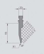 Abkantwerkzeug Typ Wila BIU-001