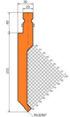 Abkantwerkzeug Typ Trumpf GWP-T1235