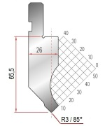 Abkantwerkzeug Typ Amada 1177 85° R3