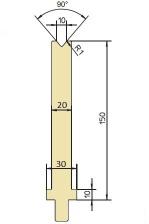 Abkantwerkzeug Typ Trumpf GWD-T010H/86°/R1