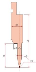 Zudrückstempel Amada GWP-1196