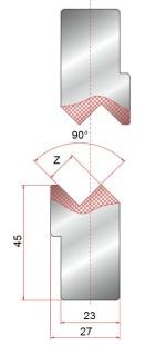 Z-einsatz GWZ-90°-Z9-Z12