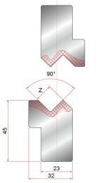 Z-Einsatz GWZ-90°-Z13-Z15