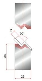 Z-einsatz GWZ-90°-Z1-Z8