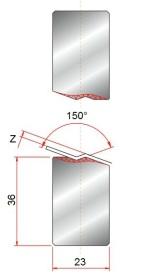 Z-einsatz GWZ-150°-Z2