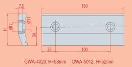 Spannvorrichtung GWA 4020 - GWA 5012