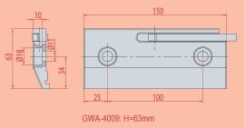 Spannvorrichtung GWA 4009