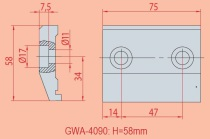 Spannvorrichtung GWA 4090