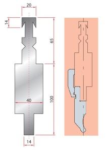 Adapter GWA 4214/ Beyeler-RFA