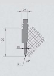 Abkantwerkzeug Typ Wila BIU-051