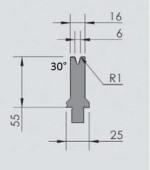 Abkantwerkzeug Typ Wila OZU-061