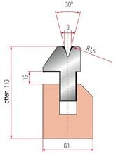 Zudrück-Unterwerkzeug Typ Trumpf GWP-3041/V8-30°-R1,5/H110