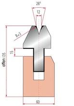 Zudrück-Unterwerkzeug Typ Trumpf GWP-3040/V12-26°-R3/H135