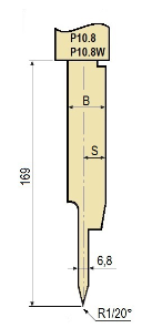 Stempel GWP-LP10.8-20°/R1/H169