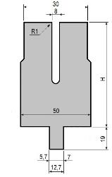 Zudrückmatrize GWD-L008/Z-R1