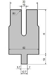 Zudrückmatrize GWD-L0010/Z-R1