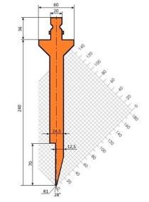 Abkantwerkzeug Typ Trumpf GWP-T210/S