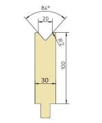 Abkantwerkzeug Typ Trumpf GWD-T020/84°/R2