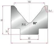 Amada Matrize V100-85°-R7