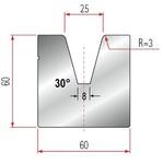 Amada Matrize V25-30°-R2