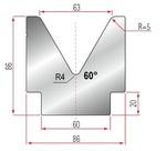 Amada Matrize V63-60°-R5