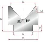 Amada Matrize V80-85°-R6