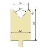 Abkantwerkzeug Typ Trumpf GWD-T050/80°/R5