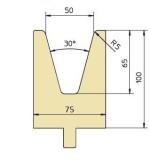 Abkantwerkzeug Typ Trumpf GWD-T050/30°/R5