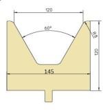 Abkantwerkzeug Typ Trumpf GWD-T120/60°/R8