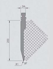 Abkantwerkzeug Typ Wila BIU-031