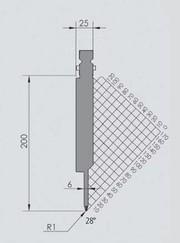 Abkantwerkzeug Typ Wila BIU-063