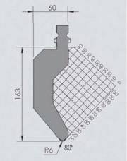 Abkantwerkzeug Typ Wila BIU-025
