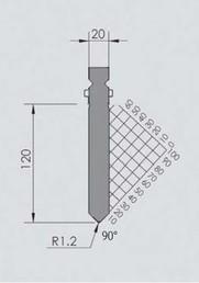 Abkantwerkzeug Typ Wila BIU-016