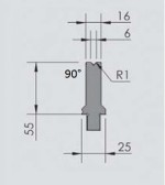Abkantwerkzeug Typ Wila OZU-041